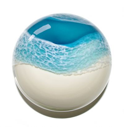 'Beach' paperweights developed by