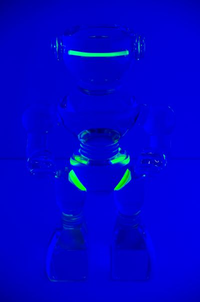 Ubot-238 - under UV lighting by