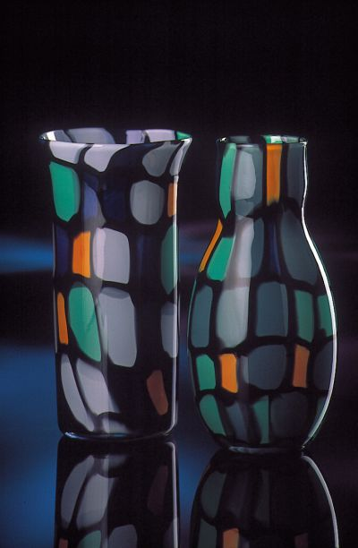 Murrine Vessel Series by