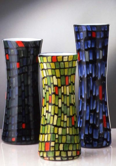 Painted Vessel Series by